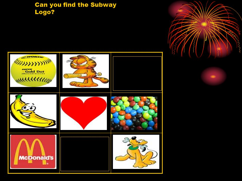 Can you find the Subway Logo
