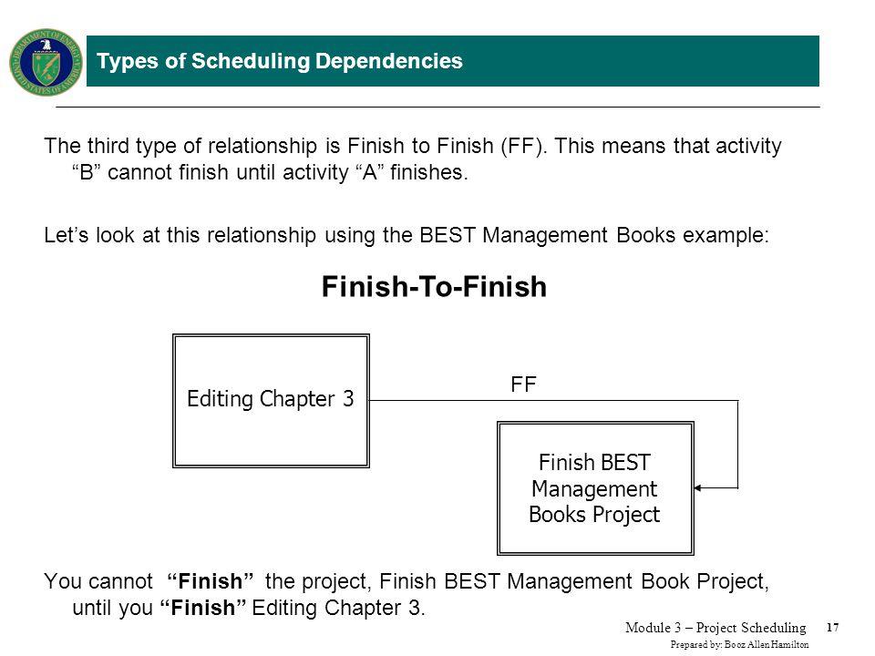 Step 3. Determine the Relationship Between Project Activities