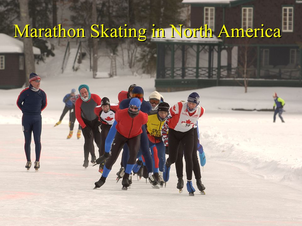 Marathon Skating in North America
