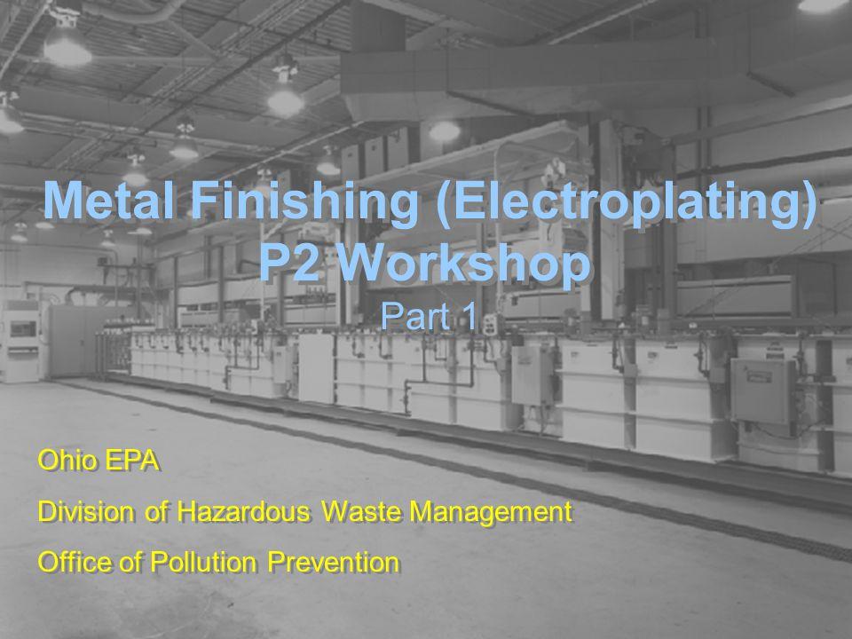 Metal Finishing (Electroplating)