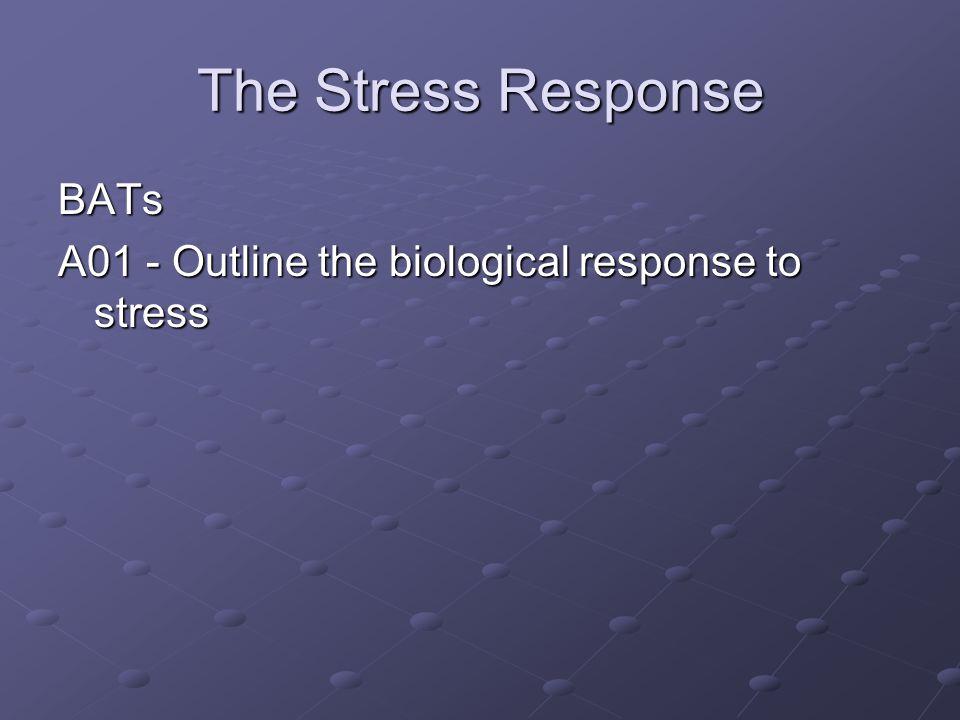 The Stress Response BATs