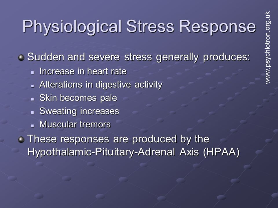Physiological Stress Response
