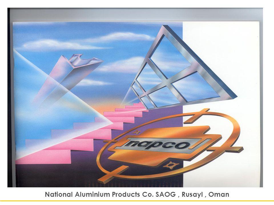 National Aluminium Products Co  SAOG , Rusayl , Oman