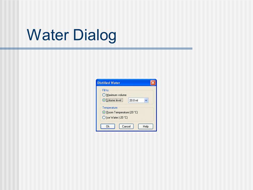 Water Dialog