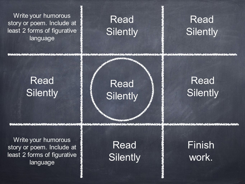 Read Silently Read Silently Read Silently Read Silently Read Silently