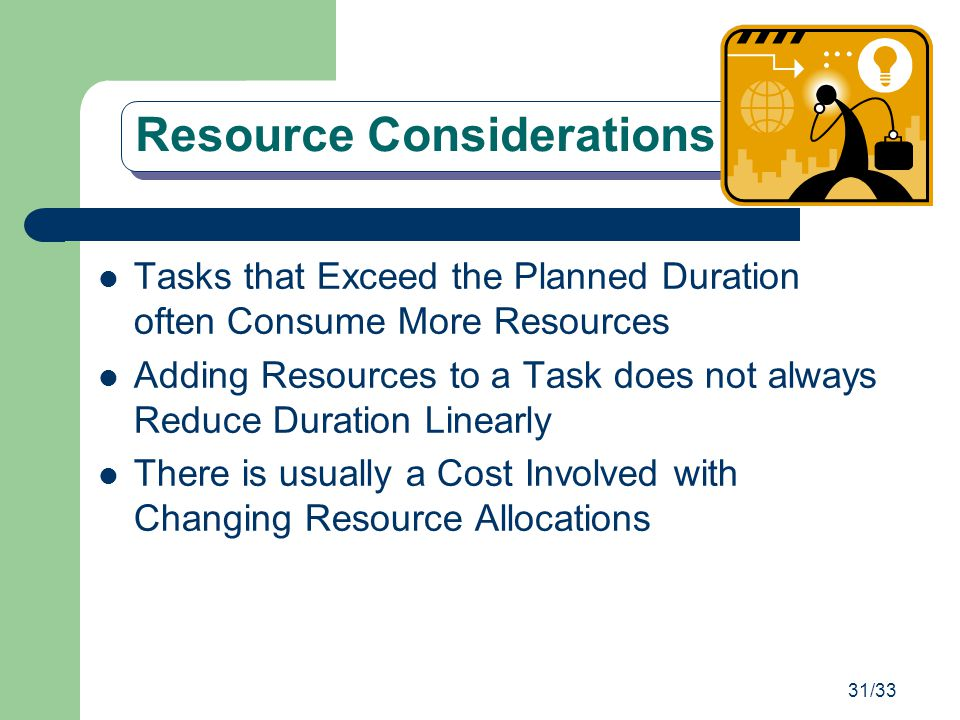 Resource Considerations