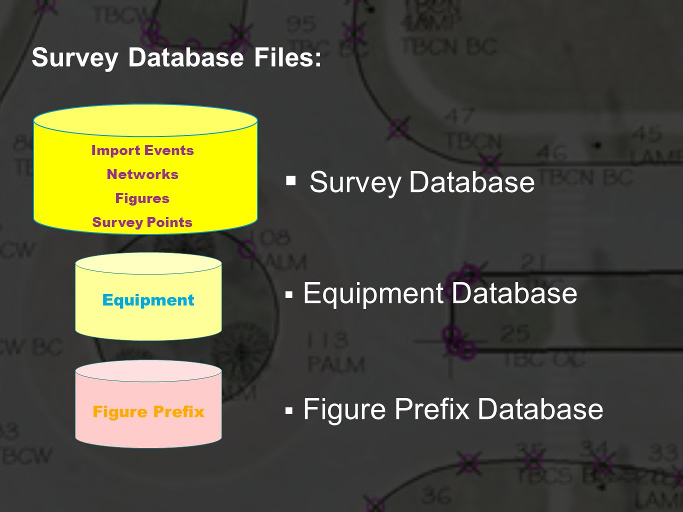 Survey Database Files: