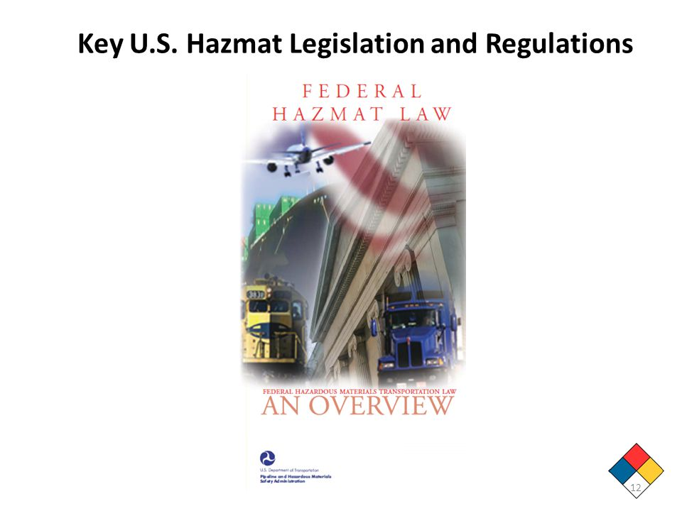 Key U.S. Hazmat Legislation and Regulations