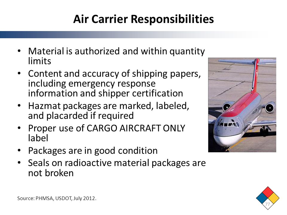 Air Carrier Responsibilities