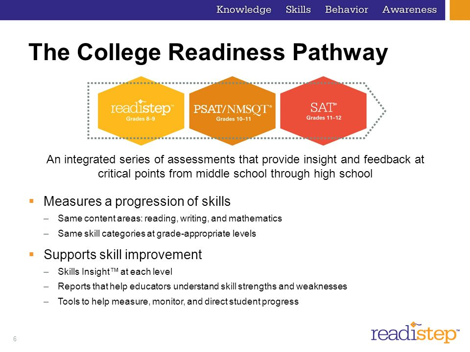 The College Readiness Pathway