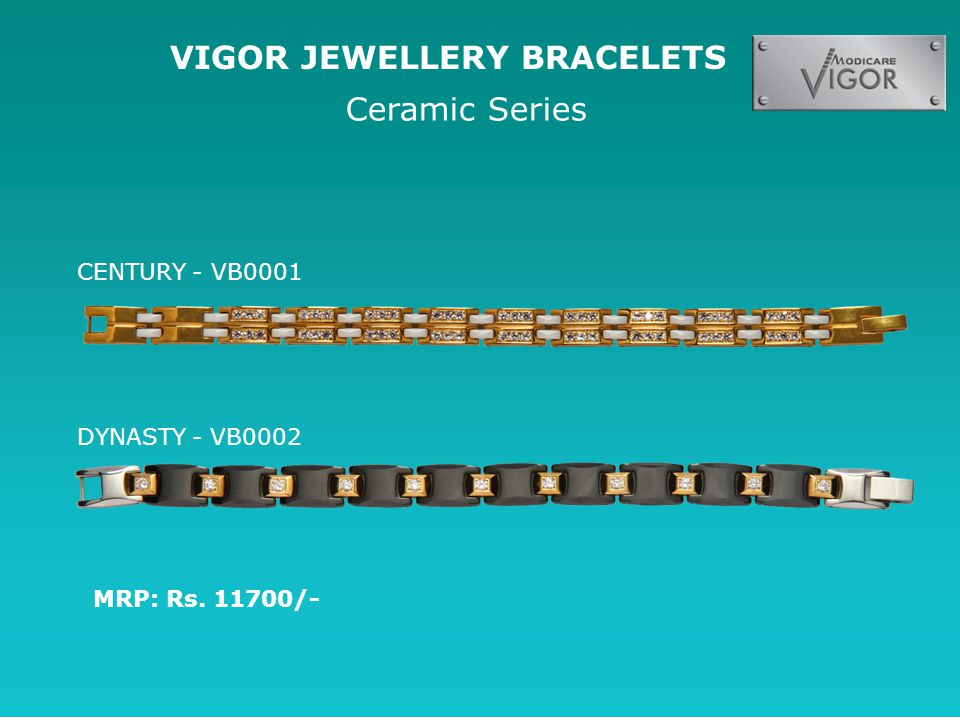 VIGOR JEWELLERY BRACELETS Ceramic Series