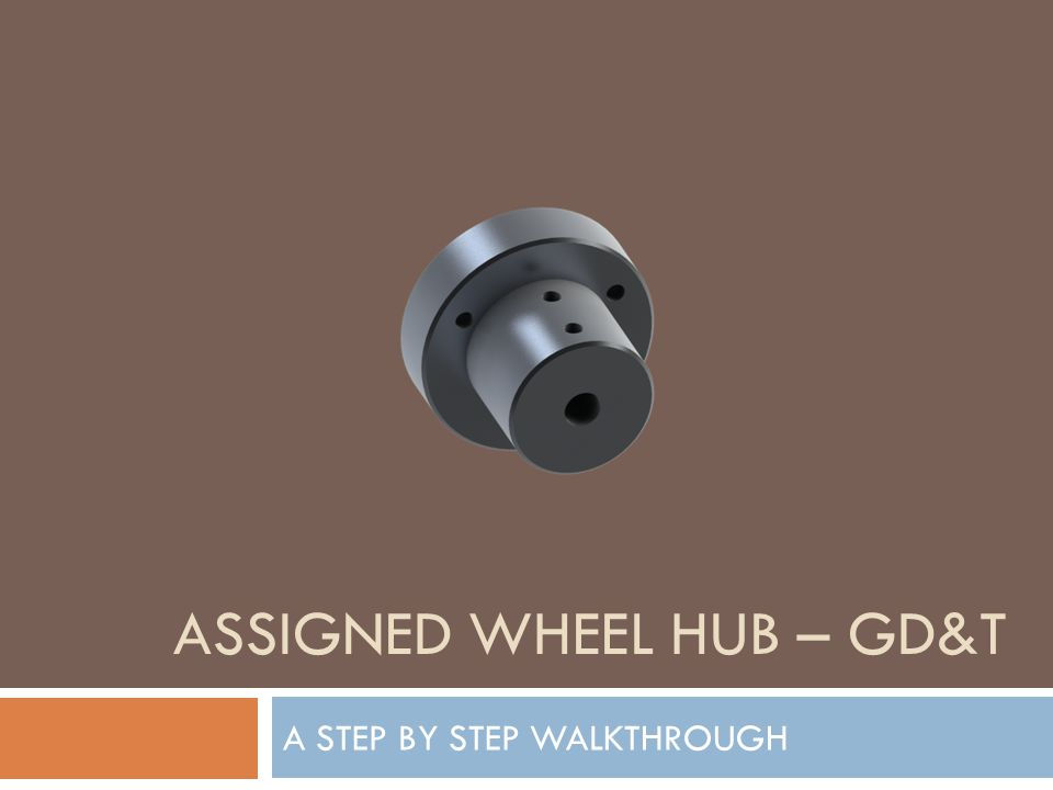 Assigned Wheel Hub – GD&T