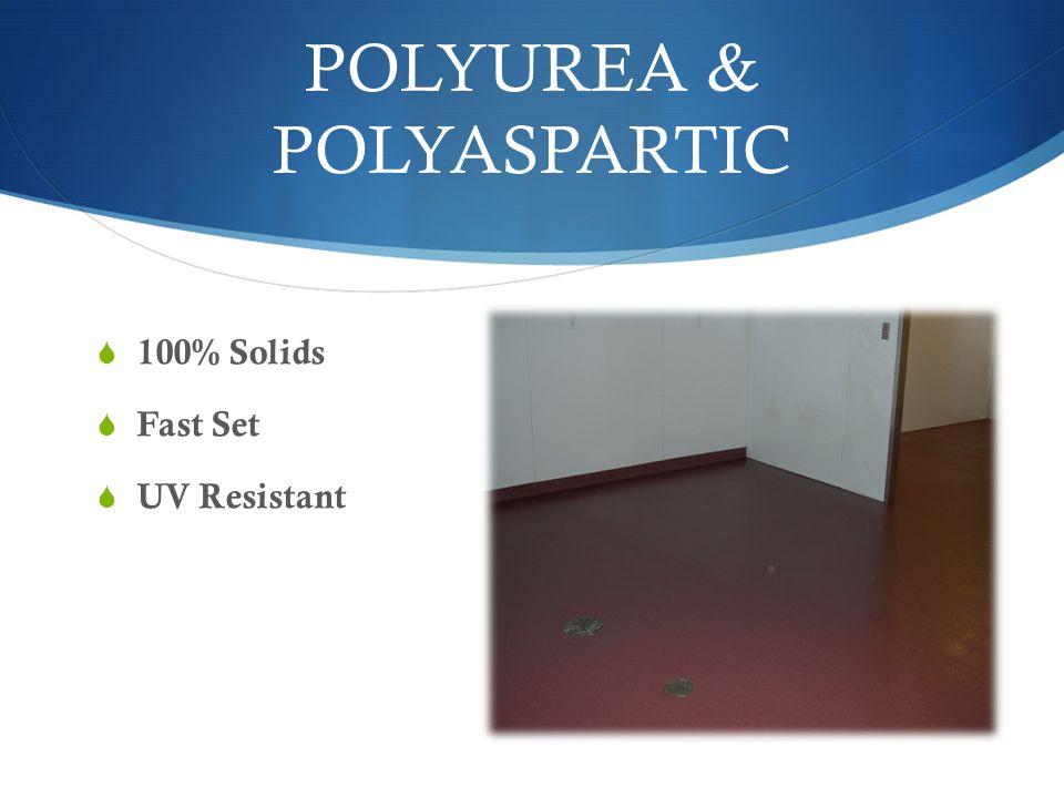 POLYUREA & POLYASPARTIC