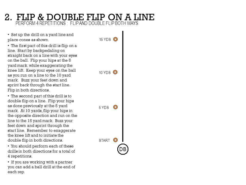 2. FLIP & DOUBLE FLIP ON A LINE