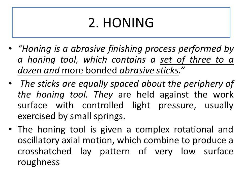 2. HONING