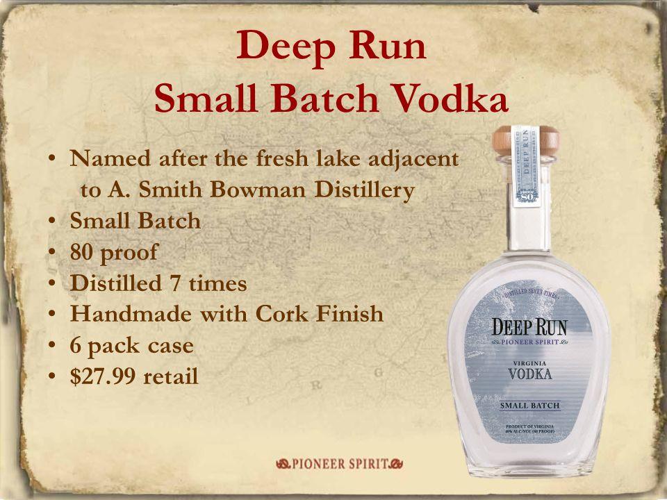 Deep Run Small Batch Vodka