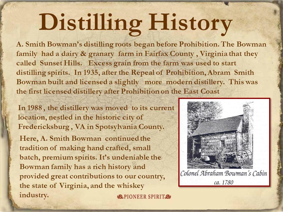 Distilling History