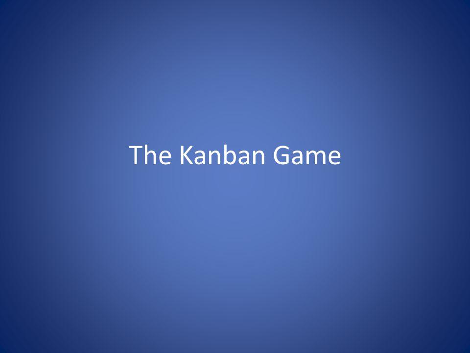 The Kanban Game