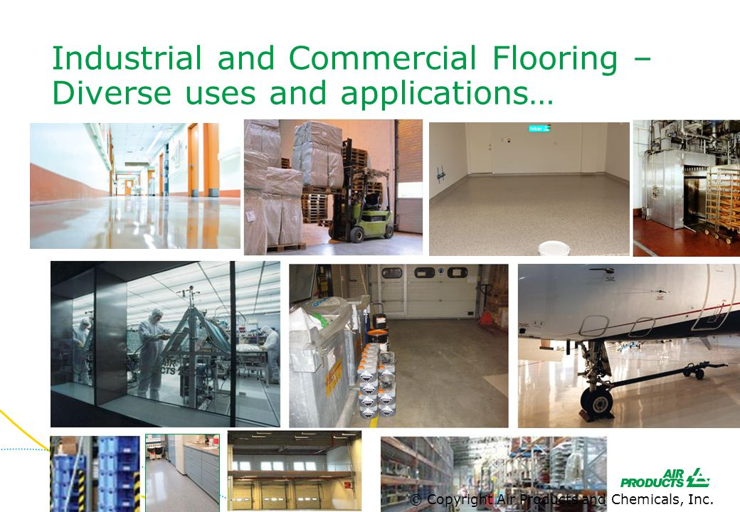 Industrial and Commercial Flooring – Diverse uses and applications…