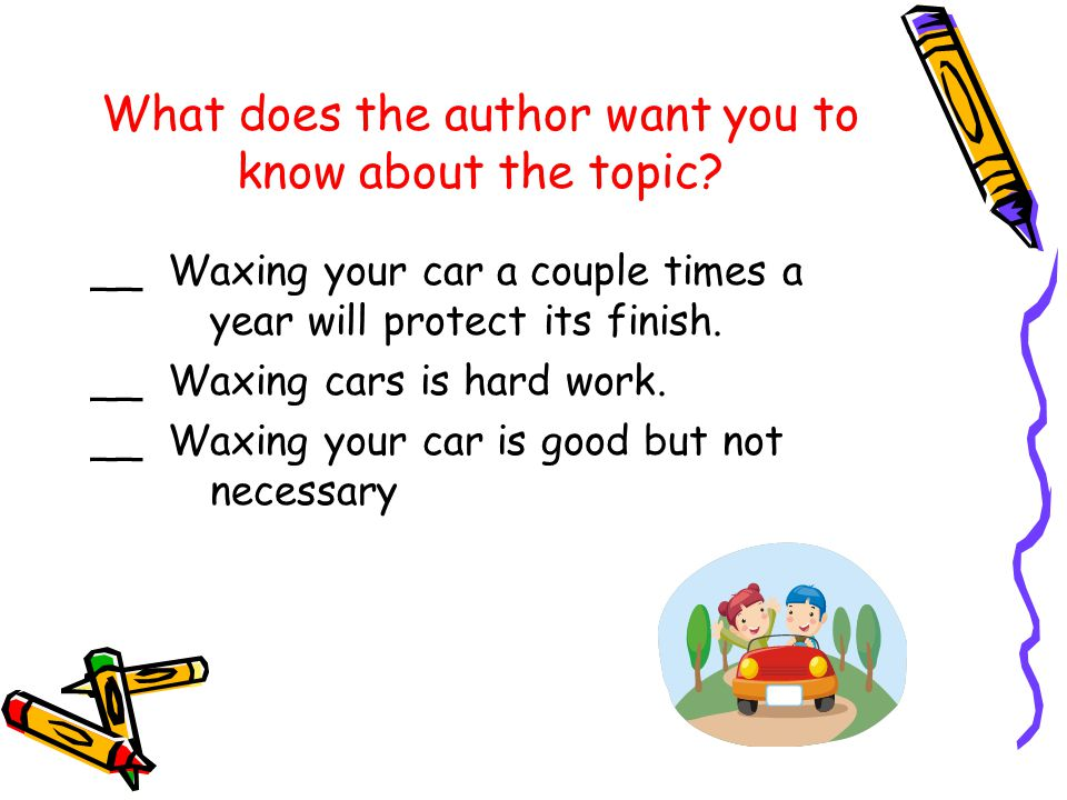 What does the author want you to know about the topic