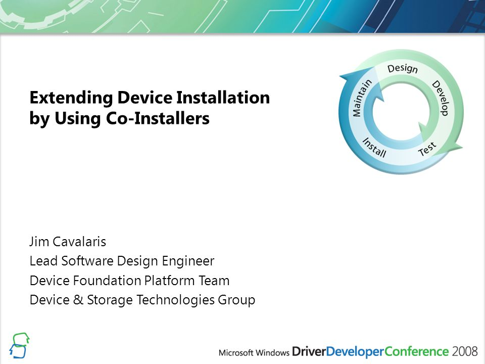 Extending Device Installation by Using Co-Installers
