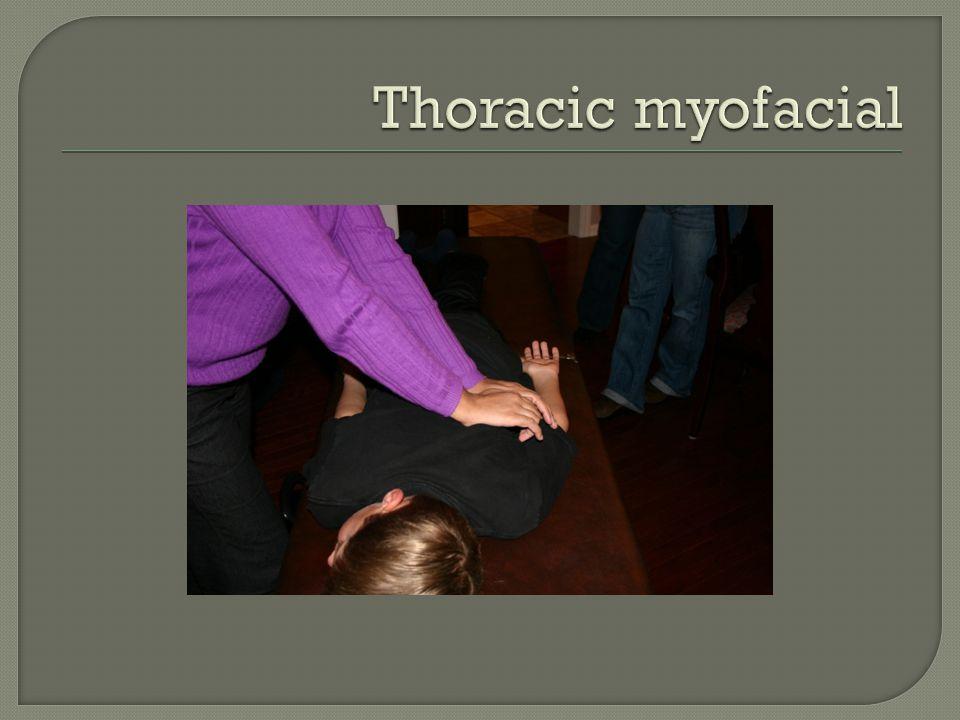 Thoracic myofacial