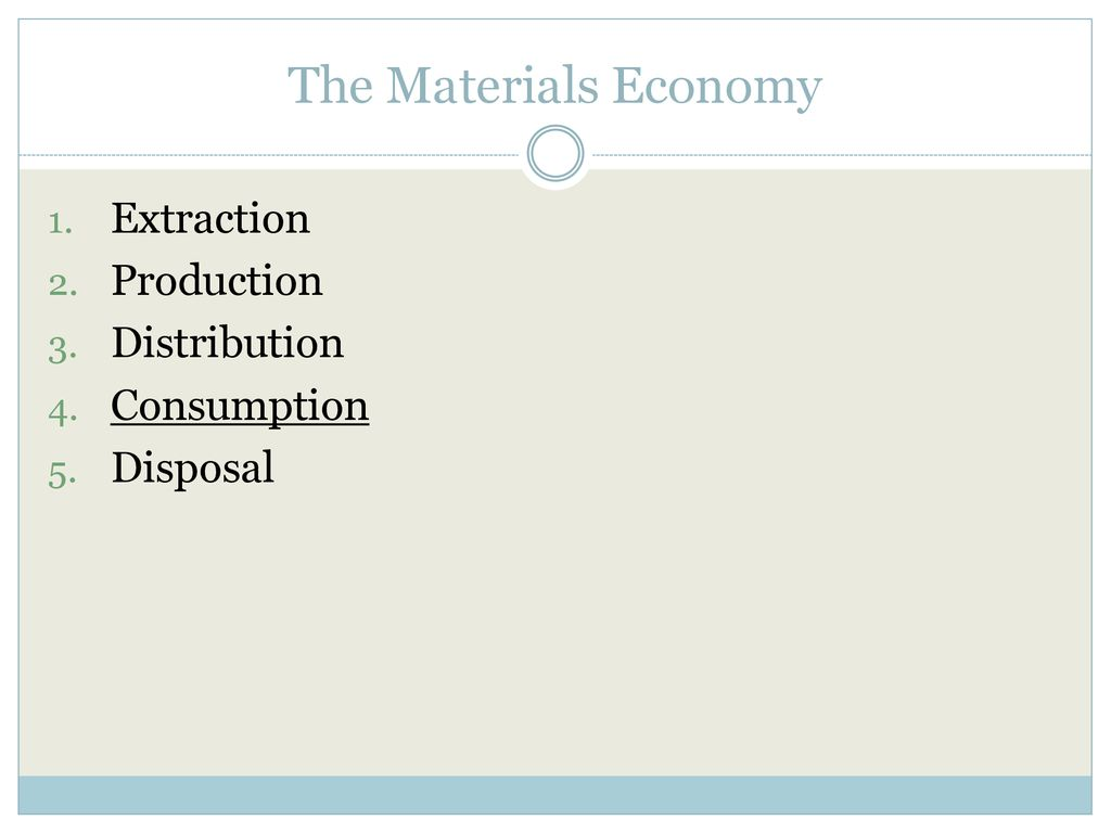 Living In A Material World The Effects Of Global Consumerism Ppt Download