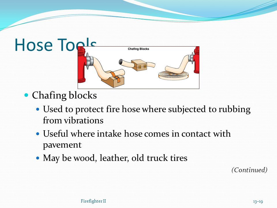 Hose Tools Chafing blocks