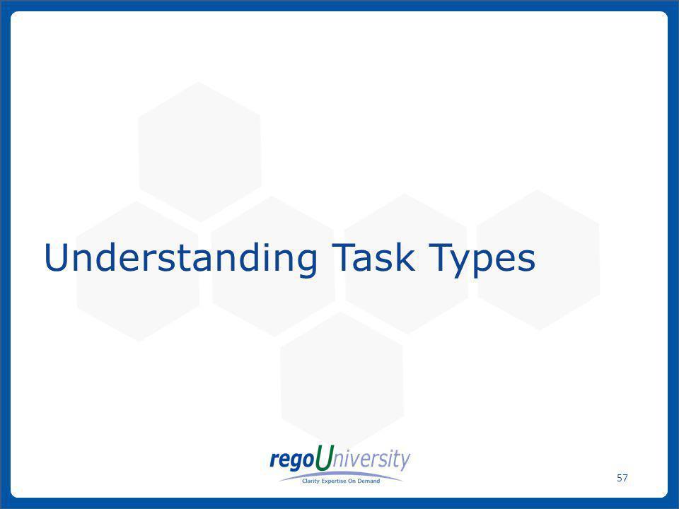 Understanding Task Types