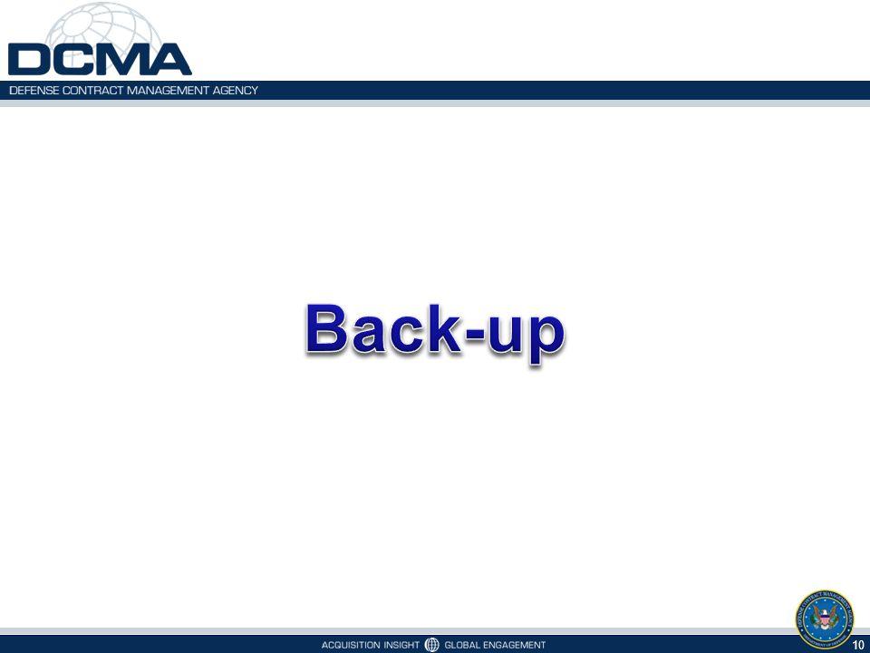Back-up 10