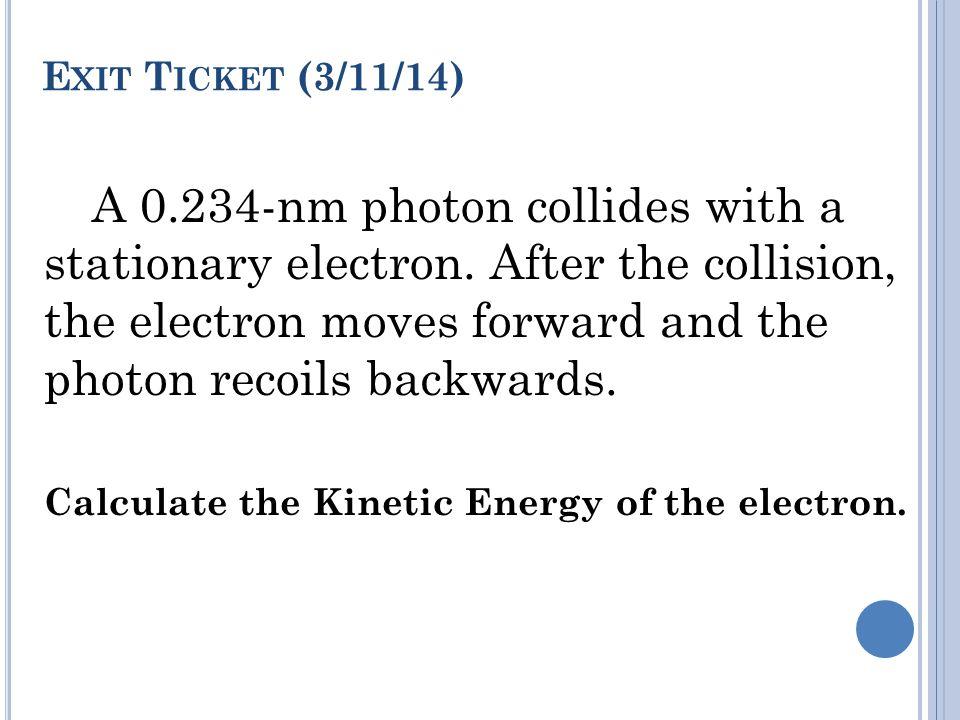 Exit Ticket (3/11/14)