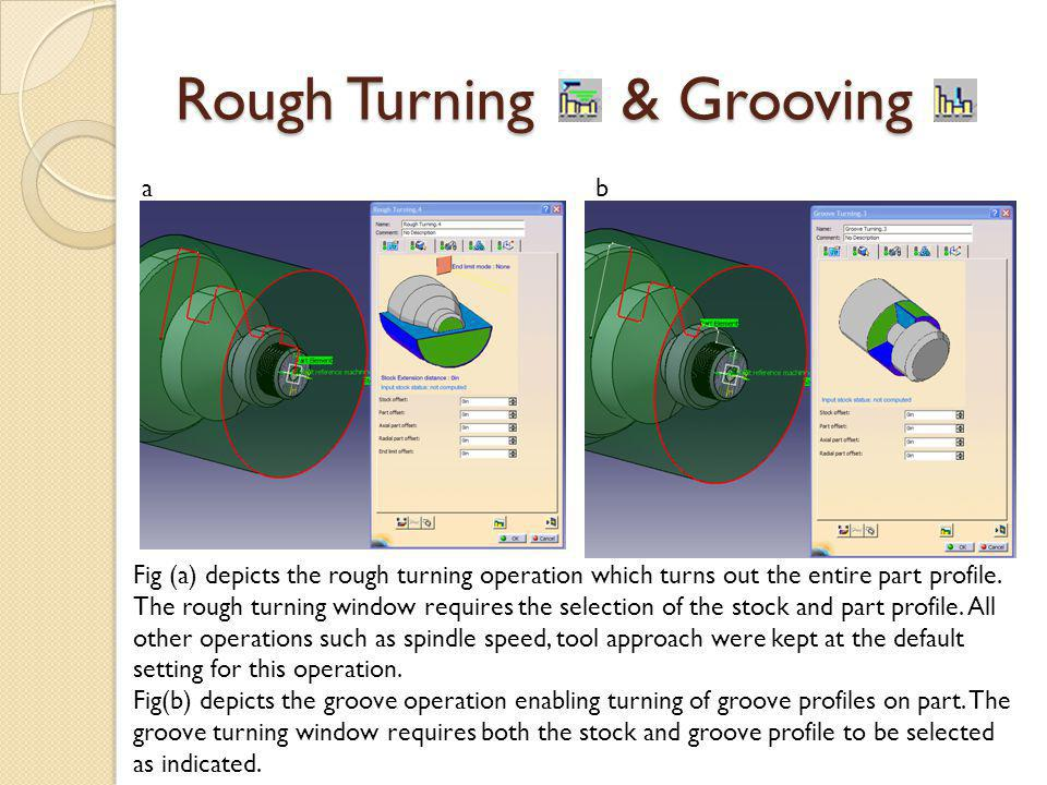 Rough Turning & Grooving