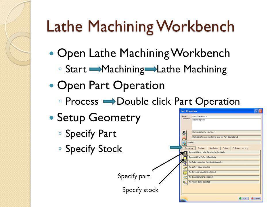 Lathe Machining Workbench