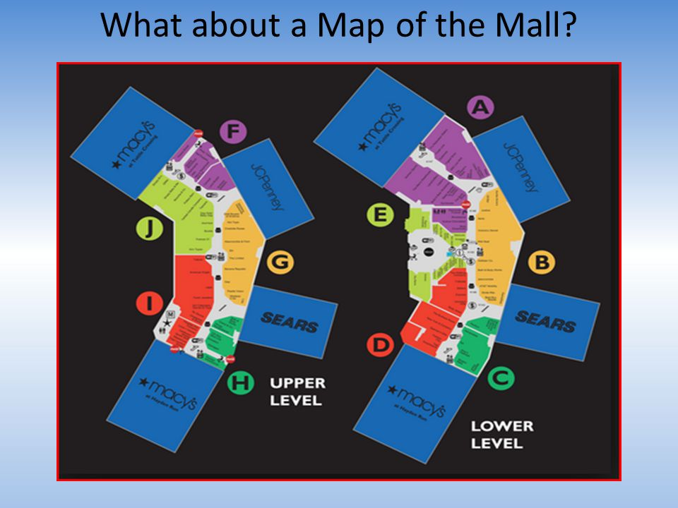 What about a Map of the Mall