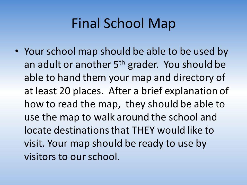 Final School Map