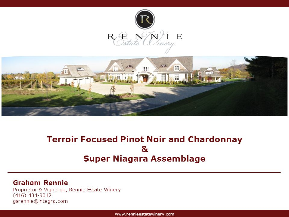 Terroir Focused Pinot Noir and Chardonnay