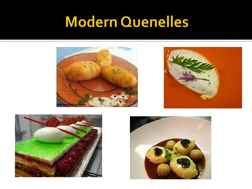 Modern Quenelles