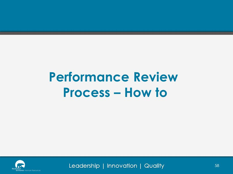 Performance Review Process – How to