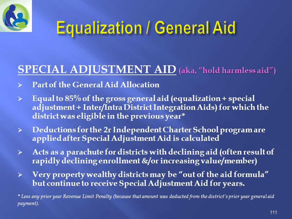 Equalization / General Aid