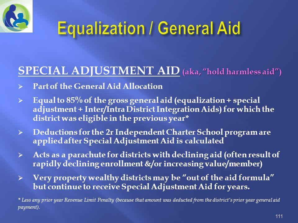 Equalization / General Aid