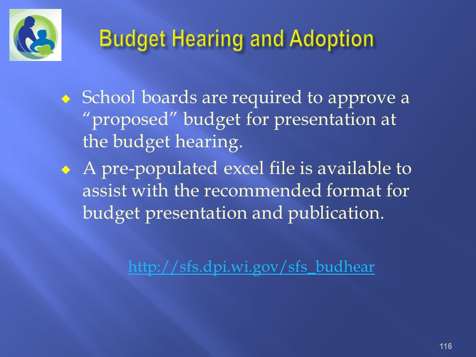 Budget Hearing and Adoption