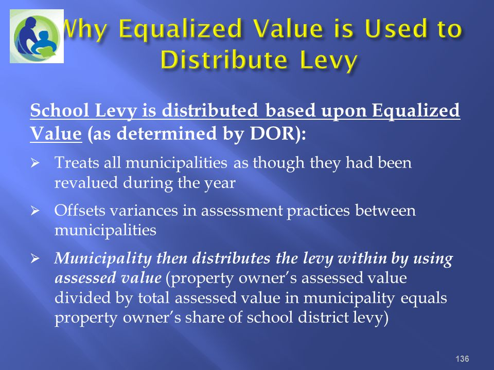 Why Equalized Value is Used to Distribute Levy