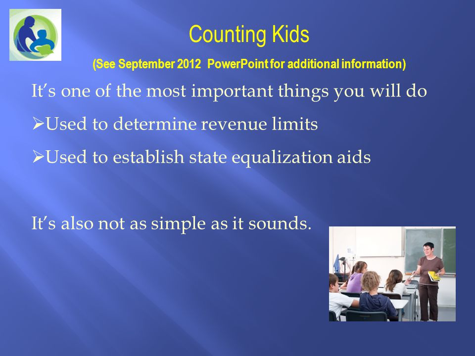 (See September 2012 PowerPoint for additional information)