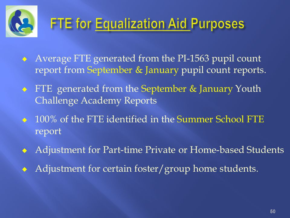 FTE for Equalization Aid Purposes