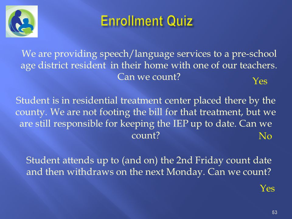 Enrollment Quiz
