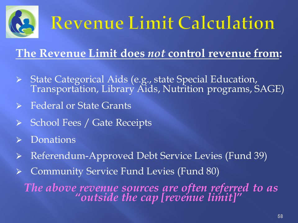 Revenue Limit Calculation