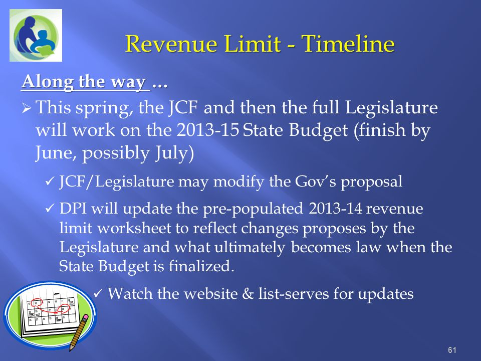 Revenue Limit - Timeline