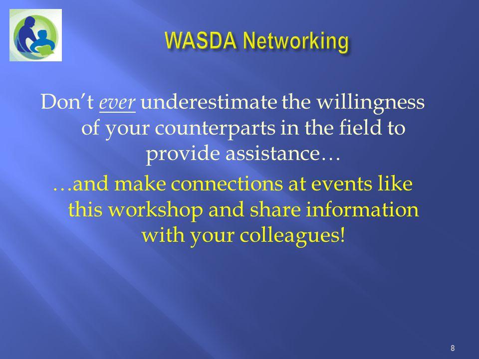 WASDA Networking