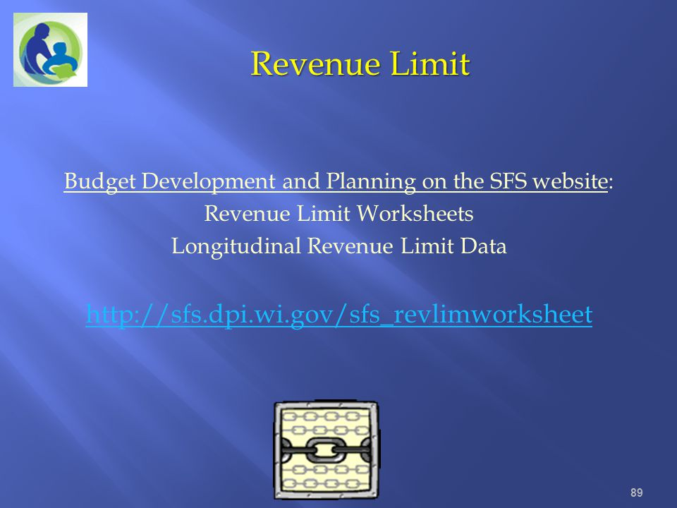 Revenue Limit http://sfs.dpi.wi.gov/sfs_revlimworksheet