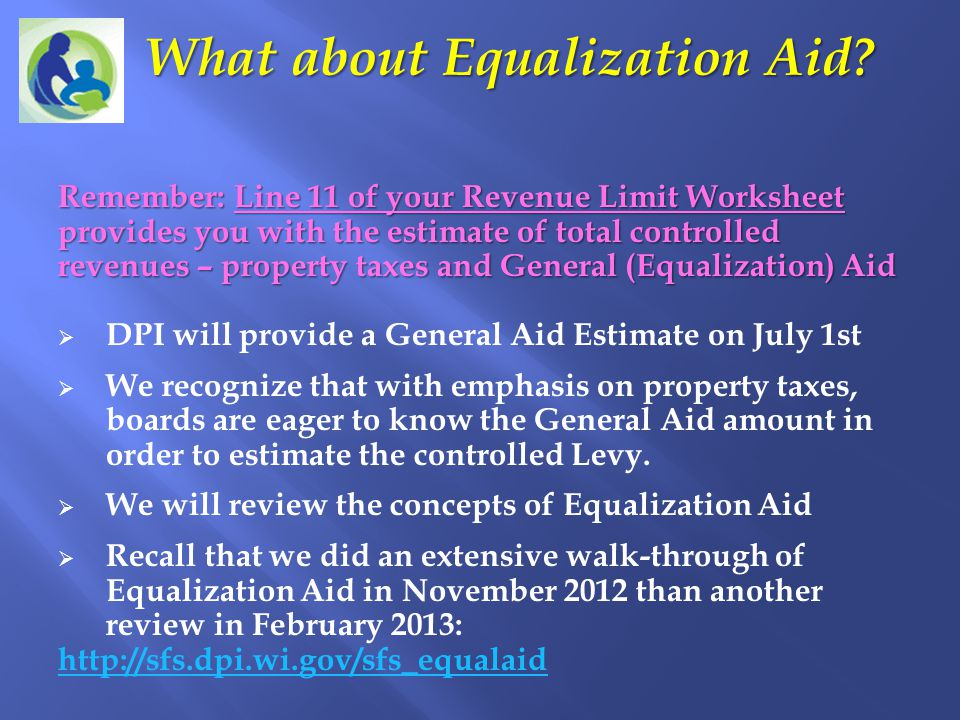 What about Equalization Aid